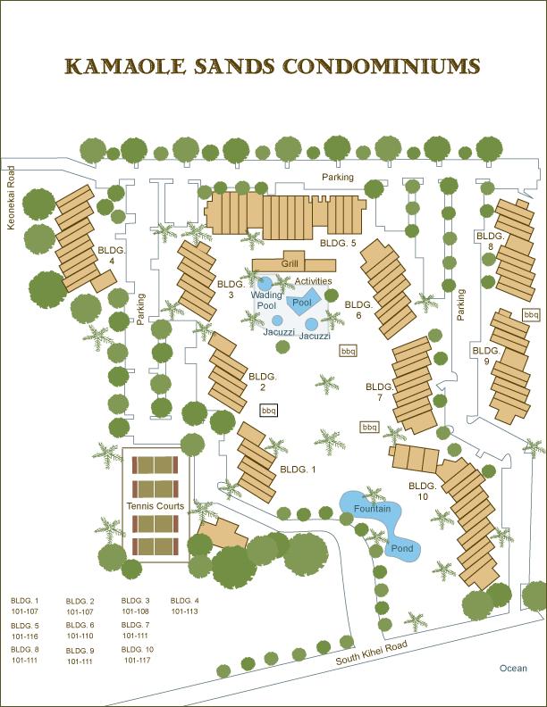 Maui Vista Condos Floor Plan Maui Vista Condo Information