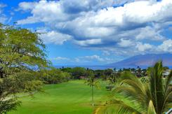 View from a home for sale in Wailea Golf Vistas