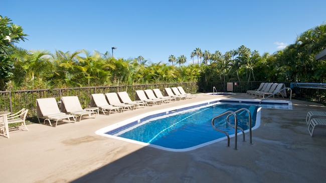 One of two swimming pools at Wailea Elua Village