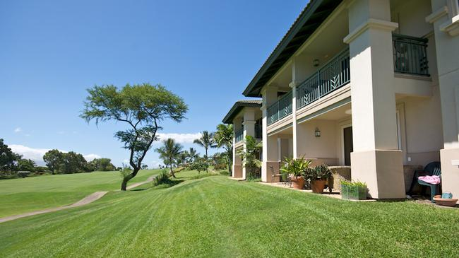 These villas are located directly above Wailea Golf Estates