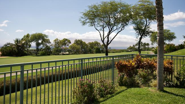 Beautiful views stretch for miles for Wailea Fairways Villas residents