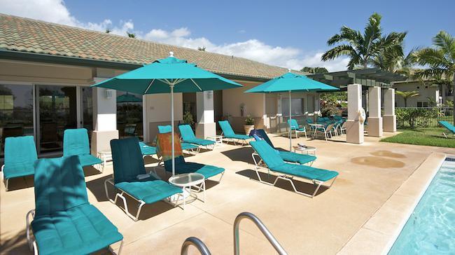Swimming pool area of Wailea Fairways Villas