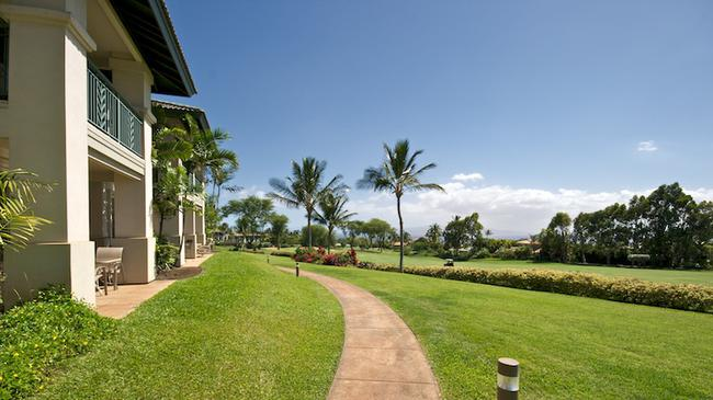 Golf fairways are just off your private lanai
