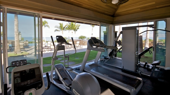 Kai Malu fitness center featuring state of the art equipment