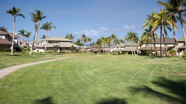 Nestled in and surrounded by holes for the 6th, 7th, 11th-14th greens for Old Wailea Blue Golf Course