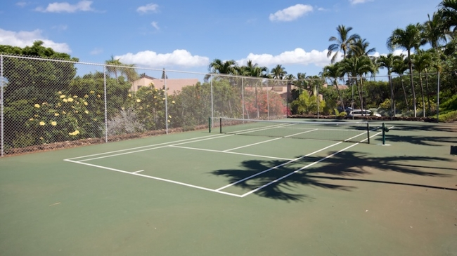 Wailea Ekahi has 2 paddle tennis courts for residents