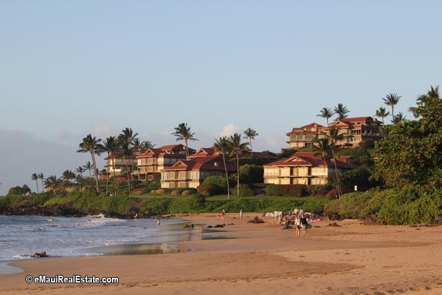 Beach at Wailea Point Condos