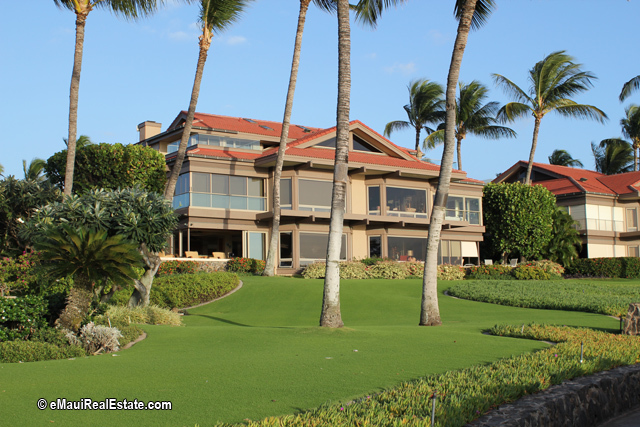 Wailea Point has well cared for grounds