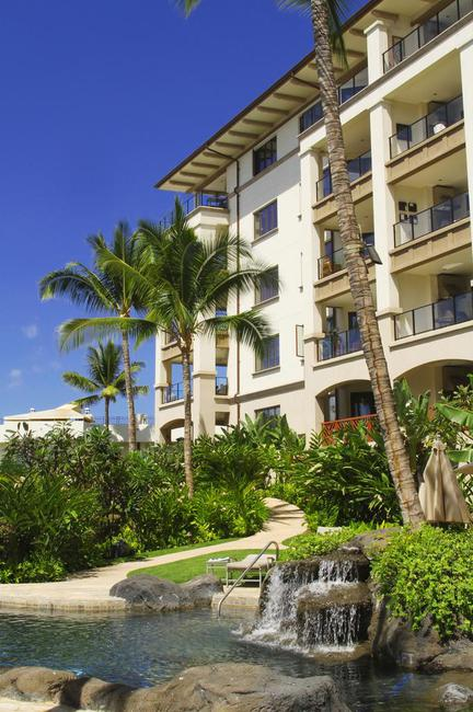 Penthouse building of Wailea Beach Villas