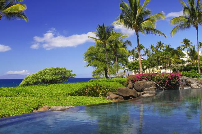 Enjoy paradise surroundings here at Wailea Beach Villas condo property