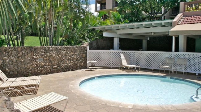 Kamaole Sands pool convenient to all the buildings