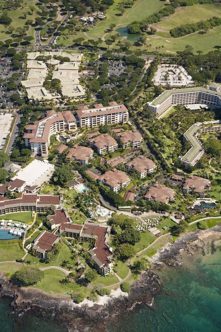 Wailea Beach Villas and adjoining resort properties