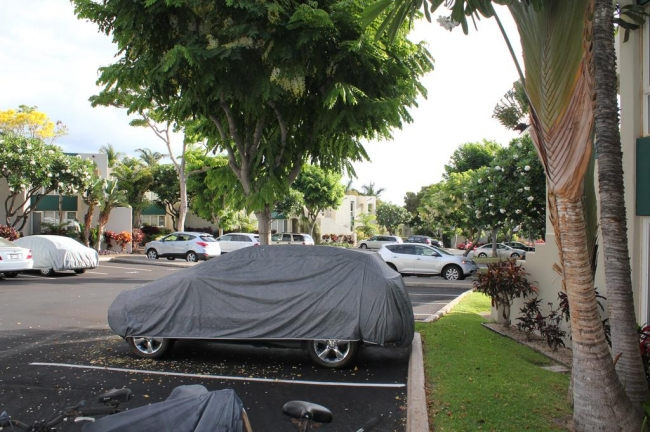Palms at Wailea residents have convenient parking