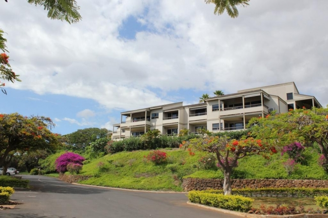 Wailea Ekolu Village  offer residents one or two bedroom condos
