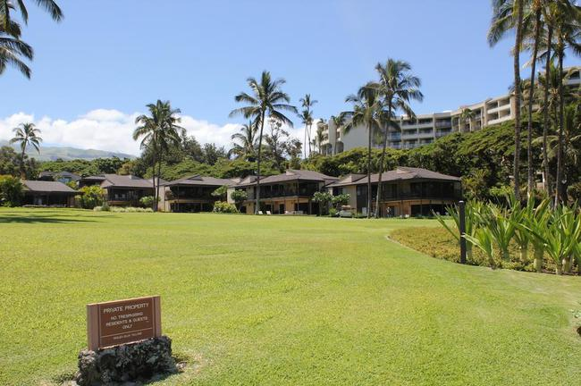 Wailea Elua Village is exclusive for residents and guests only