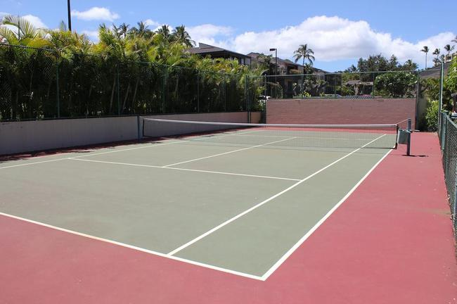 Tennis court available for residents and guests to enjoy