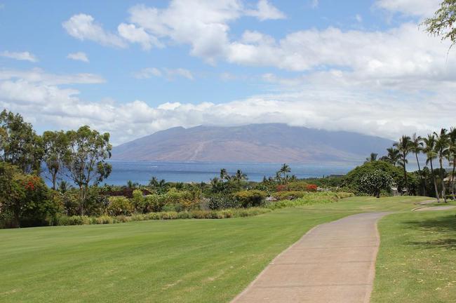 Lush tropical settings afford a native Hawaiian feel from Wailea Fairway Villas