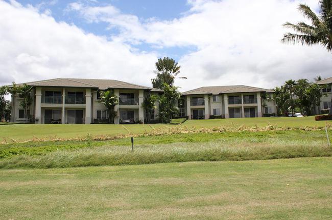 Wailea Fairway Villas have wonderful views to the golf course