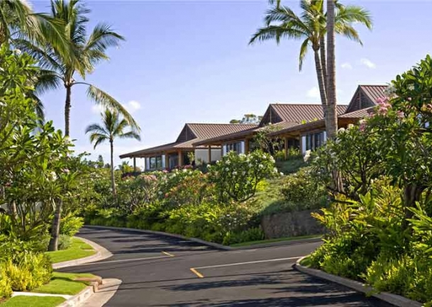A low density community concept gives Papali Wailea a secluded feel for residents