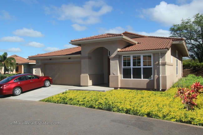 Example of a Model 300 at Hokulani Golf Villas. 2br/2ba with 1,836 sqft living area all on single level