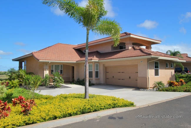 Model 210 at Hokulani Golf Villas. Two story home with 3br/2.5ba and 2,380sqft of living area