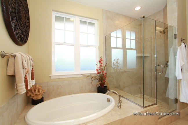Example of master bath in a model 200